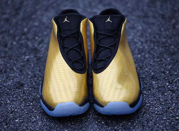 Jordan Future Gold - Detailed Images