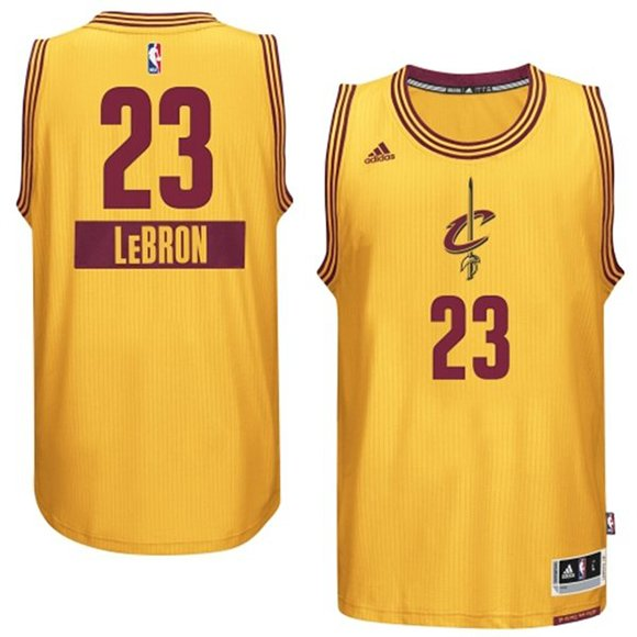 LeBron James 2014 NBA adidas Christmas Day Jersey