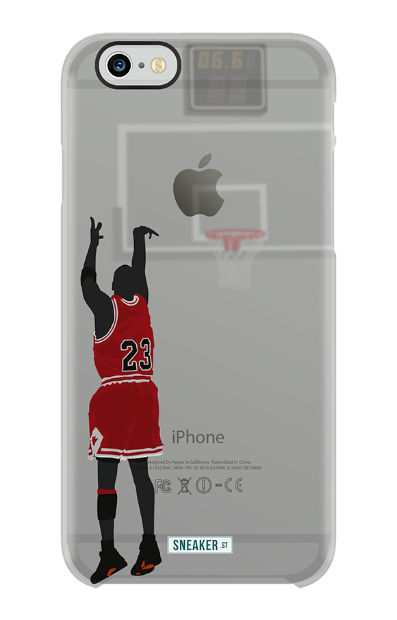 timeless design 6a9b5 c9638 Michael Jordan's 'The Last Shot' on iPhone 6 and 6+ Case | SneakerFiles