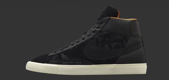 Mo Wax Nike Blazer Black Wednesday Release