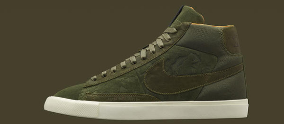 Mo Wax x Nike Blazer Olive Wednesday Release