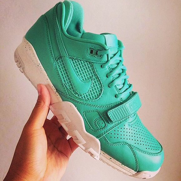 A New Size? x Nike Air Trainer SC II Mint