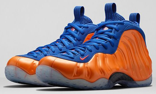 new arrival 947dd f71fb Nike Air Foamposite One Knicks - Official Images