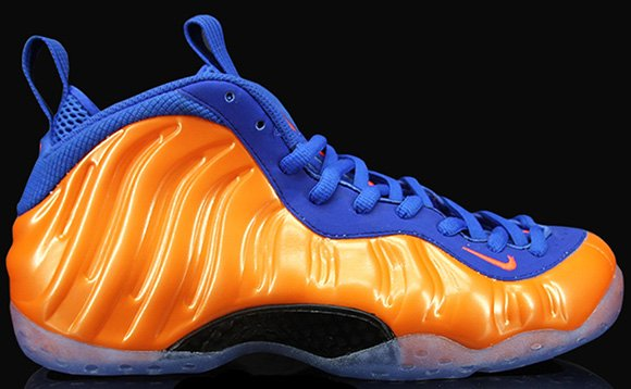 Nike Air Foamposite One New York Knicks Wednesday Release