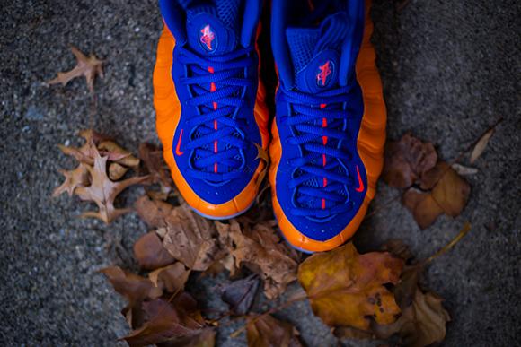Nike Air Foamposite One Total Crimson aka New York Knicks