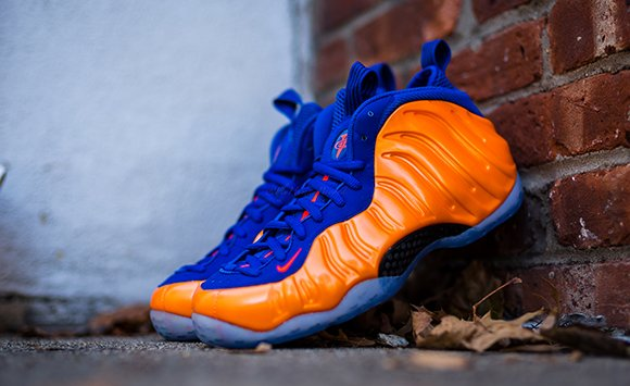 separation shoes fcafd 0406d Nike Air Foamposite One Total Crimson aka New York Knicks