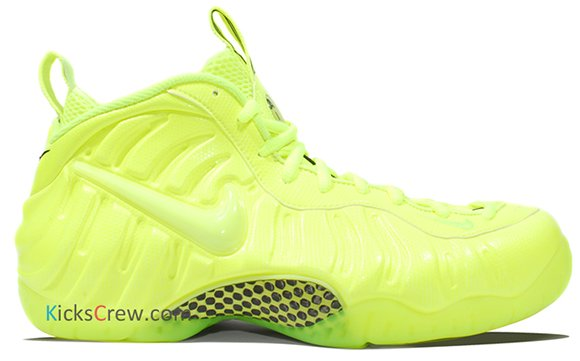 Nike Air Foamposite Pro Volt - Another Look