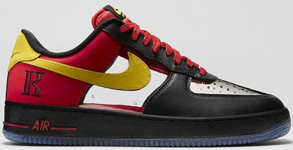 Nike Air Force 1 CMFT Kyrie Irving Cavaliers Saturday Release