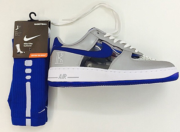 Nike Air Force 1 CMFT Signature Kyrie Irving Wolf Grey/Game Royal