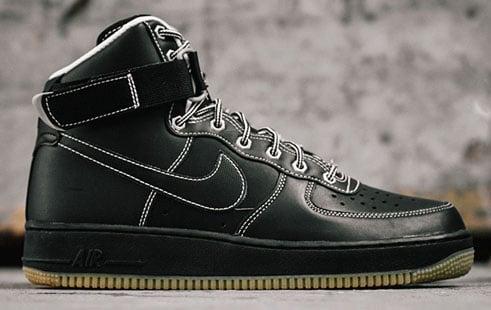 Nike Air Noir Vigueur 1 Bottes Blanches