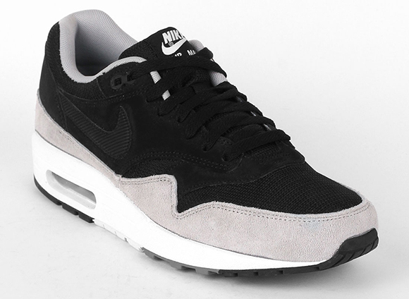nike sportswear air max 1 essential black/flat silver