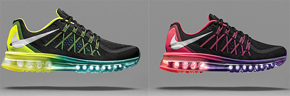 Nike Air Max 2015 Mens and Womens Black Friday 2014