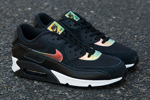 competitive price 9949f ff5b5 Nike Air Max 90 Iridescent Black
