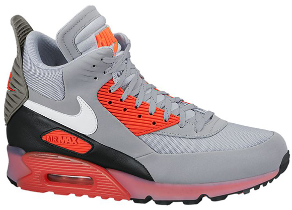 Nike Air Max 90 Sneakerboot Ice Grey Infrared Black Friday 2014