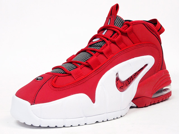 Nike Air Max Penny 1 Red White Black Friday 2014