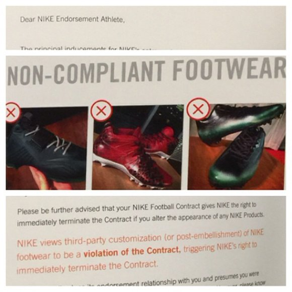 Nike Does Not Want Their Athletes to Wear Custom Sneakers