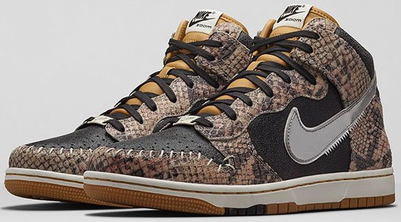 Nike Dunk High Crocodile Dundee - Official Images