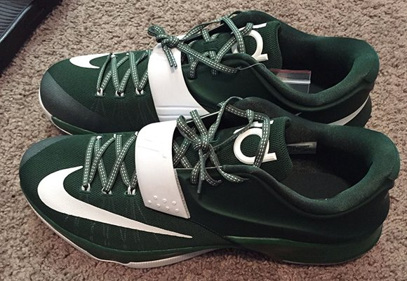 Nike KD 7 Michigan State Spartans PE