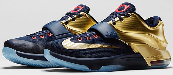 Nike KD 7 Premium Midnight Navy Saturday Release