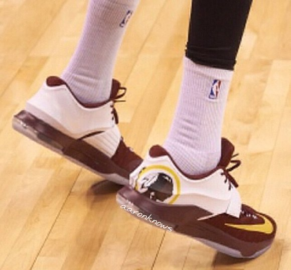 Nike KD 7 'Washington Redskins' Worn by Durant | SneakerFiles