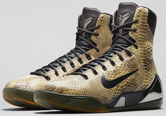 new concept 240df 3ef96 Nike Kobe 9 Elite EXT Snakeskin - Official Images