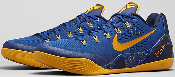 Nike Kobe 9 EM Gym Blue Friday Release