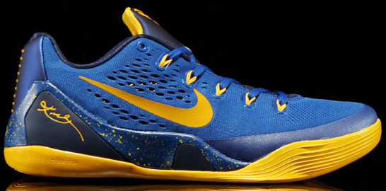 Nike Kobe 9 EM Low Gym Blue - Another Look
