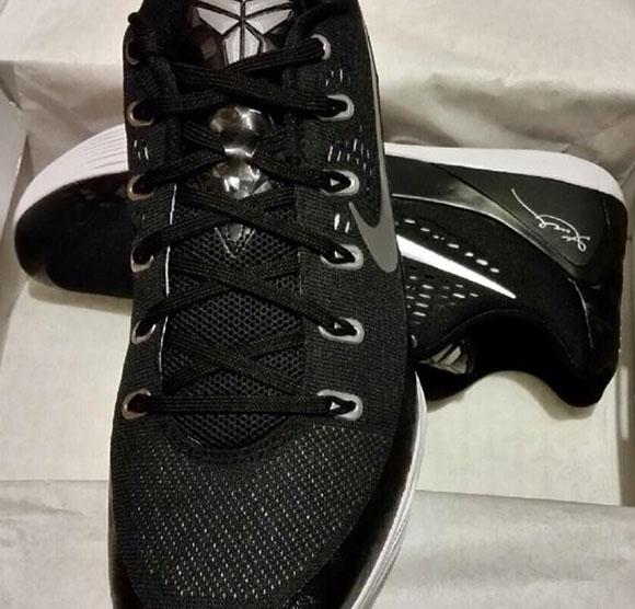 Nike Kobe 9 EM TB Black/Metallic Silver-White