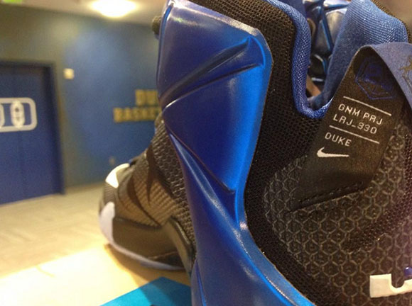 Nike LeBron 12 Duke Blue Devils PE