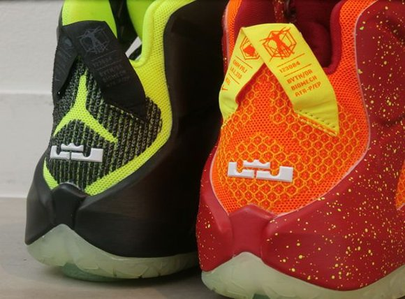 Nike LeBron 12 iD Samples