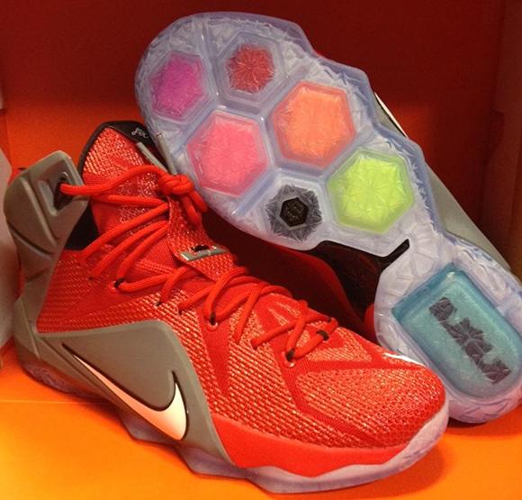 Nike LeBron 12 Ohio State Buckeyes PE