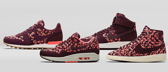 Nike Liberty Belmont Ivy Burgundy Black Friday 2014