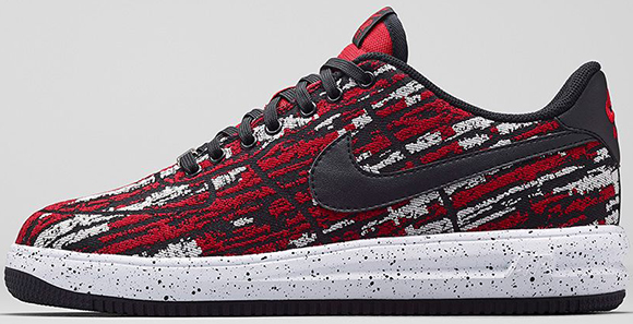 Nike Lunar Force 1 Jacquard Gym Red Official Images