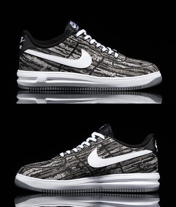 new style ce74c 9a0b5 chic Nike Lunar Force 1 Low Jacquard Pack