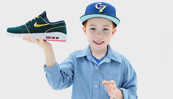 Nike Stefan Janoski Max Doernbecher Designed by Chase Crouch