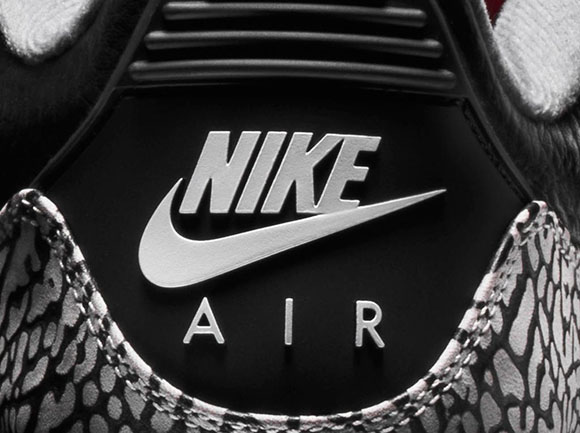 The Nike Zoom Vapor AJ3 Black/Cement is Landing at Flight 23
