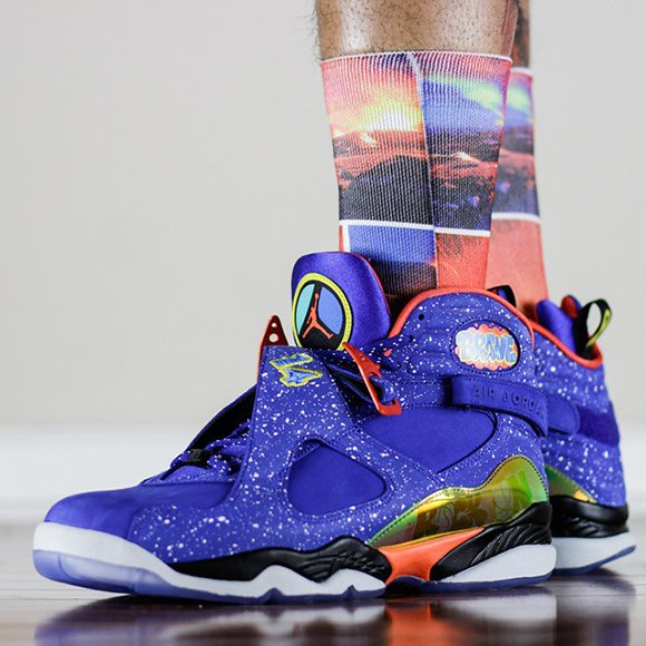On Feet: Air Jordan 8 Doernbecher