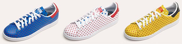 Pharrell x adidas Stan Smith Small Polka Dot Pack Black Friday 2014