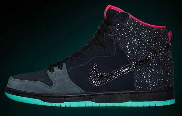 Premier x Nike SB Dunk High Premium Northern Lights Official Images