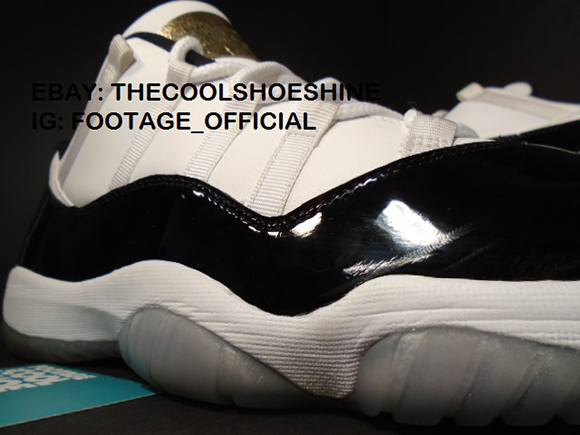Rare: Air Jordan 11 Low Bred and Concord 6 Championship Rings