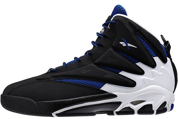 Reebok The Blast White Black Royal Tuesday Release