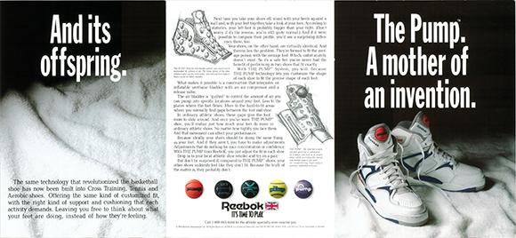 Reebok The Pump Original Ad