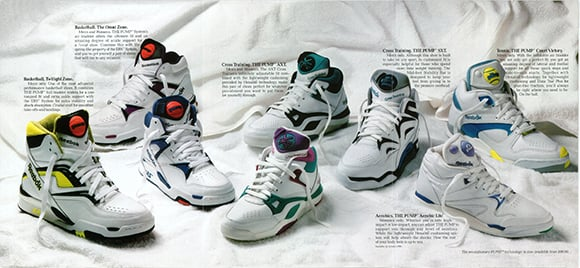 two pairs of og reebok the pump is launching on black