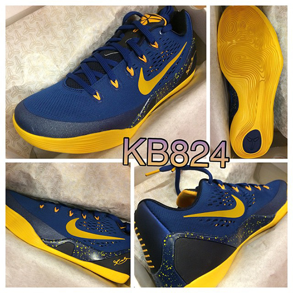 Release Date: Nike Kobe 9 EM Low Gym Blue