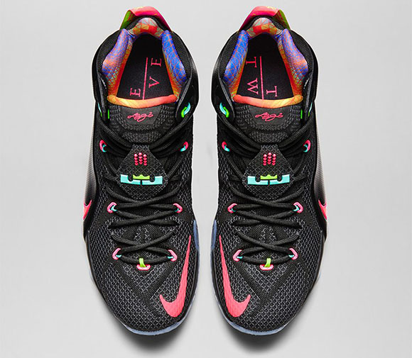 Release Date: Nike LeBron 12 Data