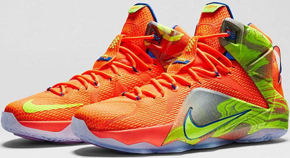 Release Date: Nike LeBron 12 Six Meridians