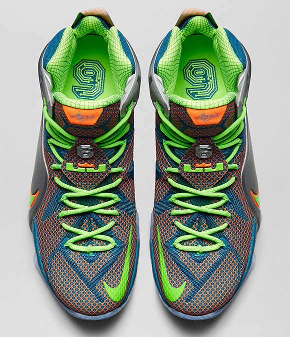 Release Date: Nike LeBron 12 Six Trillion Dollar Man