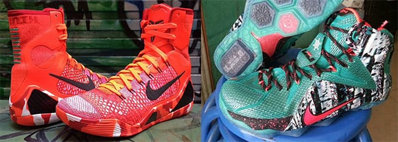release dates christmas nike lebron 12 kd 7 and kobe 9 elite - Christmas Lebron 12