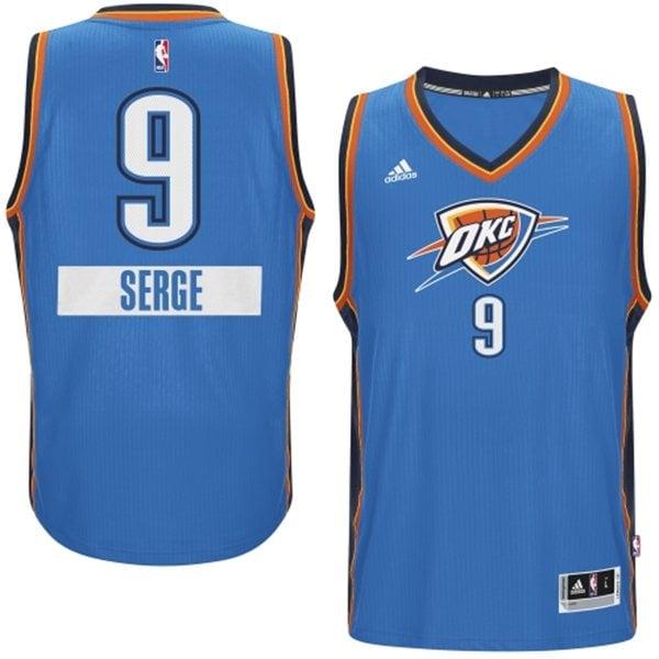 Serge Ibaka 2014 NBA adidas Christmas Day Jersey