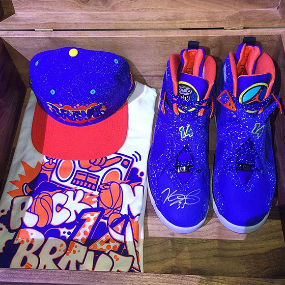 Shane Victorino Buys Air Jordan 8 Doernbecher Signed by Kevin Durant